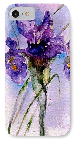 Dutch Iris IPhone Case by Anne Duke