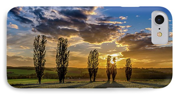 Dutch Moutains At Sunset IPhone Case