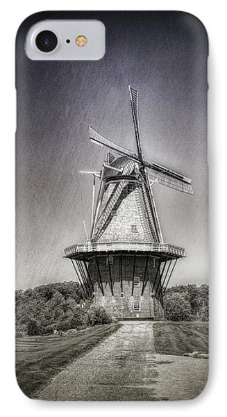 Dutch Windmill IPhone Case by Tom Mc Nemar