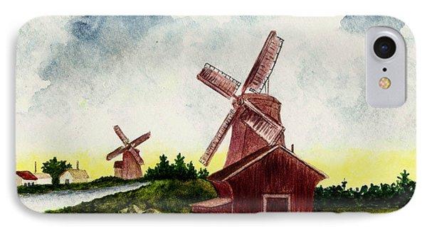 Dutch Windmills Phone Case by Michael Vigliotti