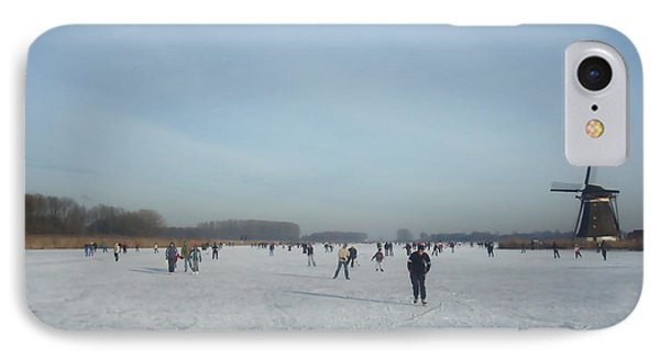 Dutch Winter Landscape IPhone Case