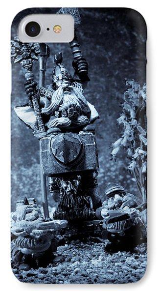 Dwarven Holy Anvil Phone Case by Marc Garrido