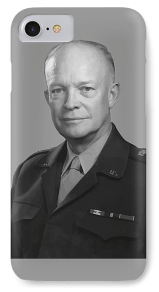 Dwight D. Eisenhower  Phone Case by War Is Hell Store