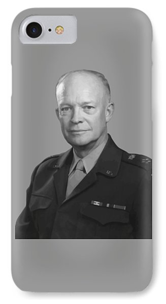 Dwight D. Eisenhower  IPhone Case by War Is Hell Store