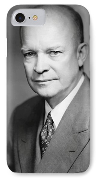 Dwight Eisenhower Phone Case by War Is Hell Store