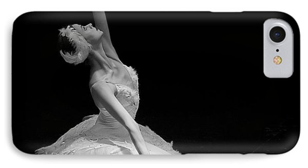 Dying Swan II. IPhone Case
