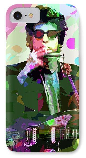 Dylan In Studio IPhone 7 Case by David Lloyd Glover