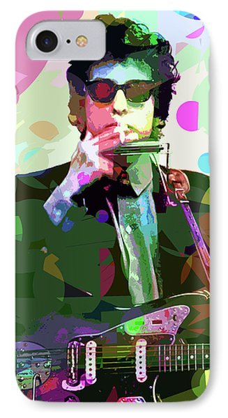 Dylan In Studio IPhone 7 Case by David Lloyd Glover
