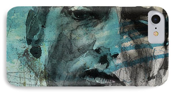 Dylan - Retro  Maggies Farm No More IPhone Case by Paul Lovering