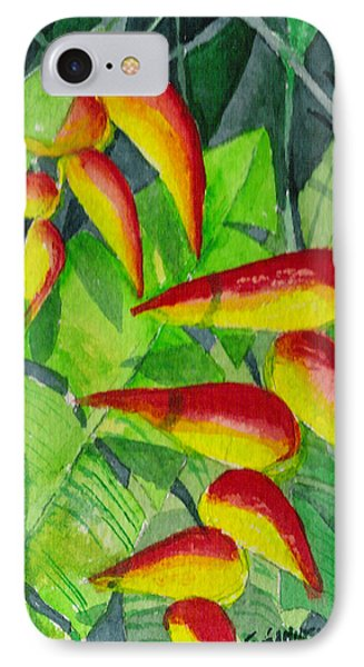 IPhone Case featuring the painting Dynamic Halakonia by Eric Samuelson