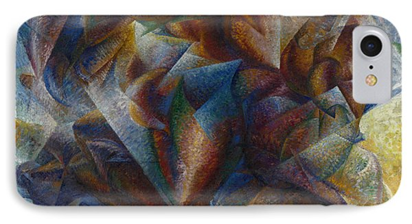 Dynamism Of A Soccer Player IPhone Case by Umberto Boccioni