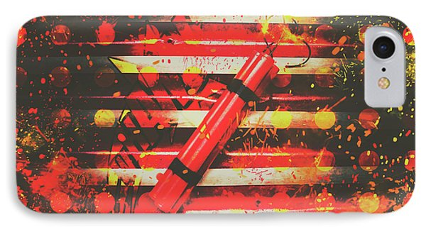 Dynamite Artwork IPhone Case by Jorgo Photography - Wall Art Gallery