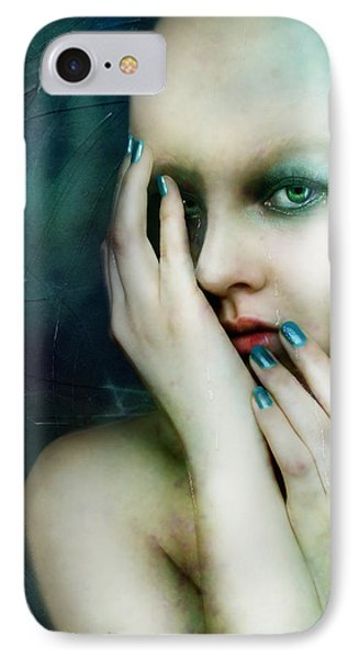Dysthymia IPhone Case by Mary Hood