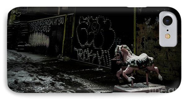 Dystopian Playground 1 IPhone Case by James Aiken