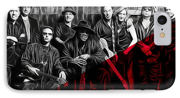 E Street Band Collection IPhone Case by Marvin Blaine