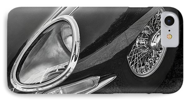 IPhone Case featuring the photograph E-type Monotone by Dennis Hedberg