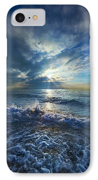 Each Changing Place With That Which Goes Before IPhone Case by Phil Koch