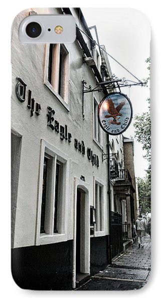 Eagle And Child Pub - Oxford IPhone Case by Stephen Stookey
