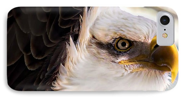 Eagle Eye IPhone Case by Sherman Perry