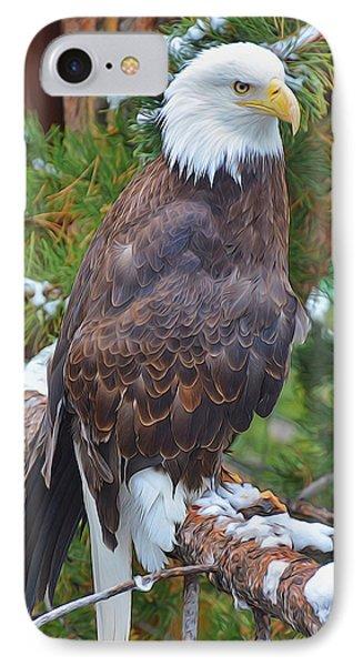 Eagle Glory IPhone Case