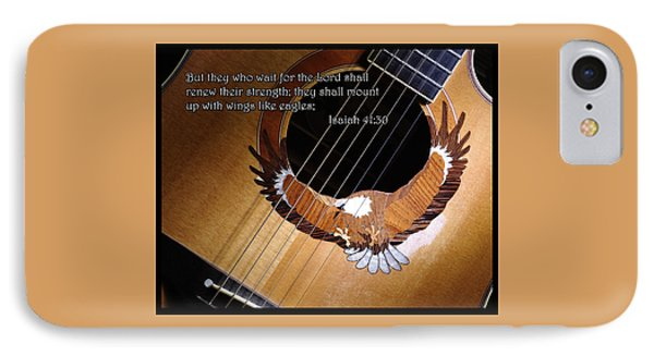 Eagle Guitar IPhone Case by Jim Mathis