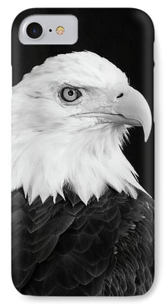 Eagle Portrait Special  IPhone Case by Coby Cooper