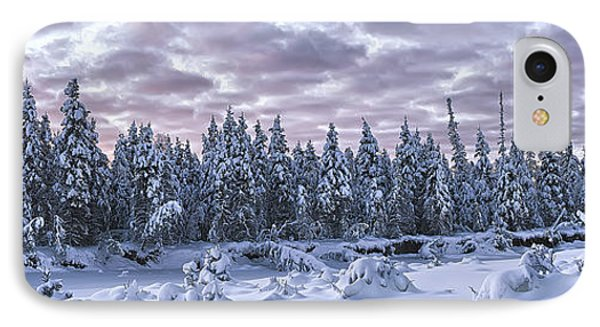 Eagle River Treeline IPhone Case by Ed Boudreau