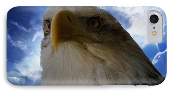 Eagle IPhone Case by Sherman Perry