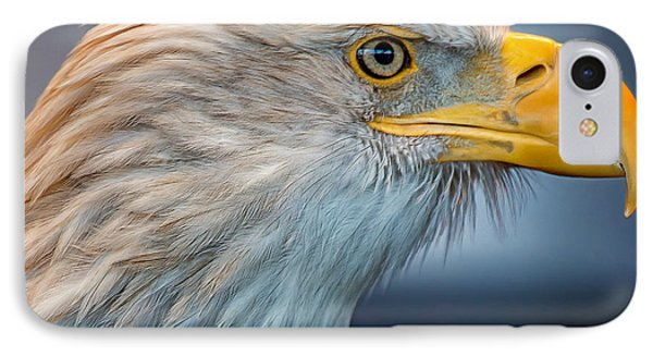 Eagle With An Attitude Phone Case by Bill Tiepelman