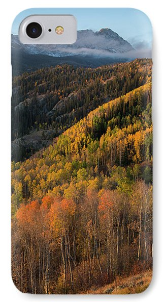 IPhone 7 Case featuring the photograph Eagle's Nest Peak Vertical by Aaron Spong