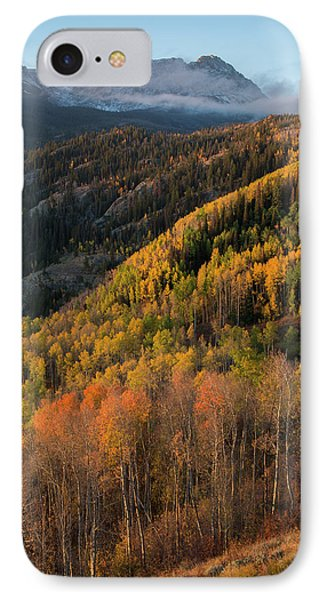 IPhone Case featuring the photograph Eagle's Nest Peak Vertical by Aaron Spong