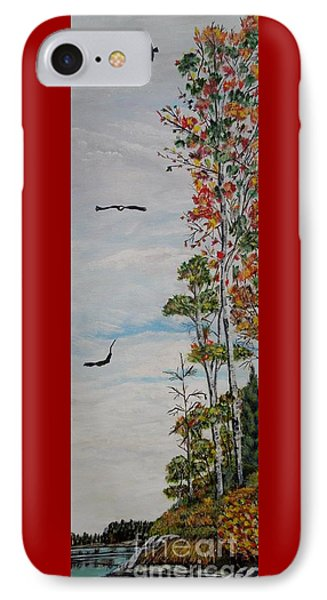 Eagles Point Phone Case by Marilyn  McNish
