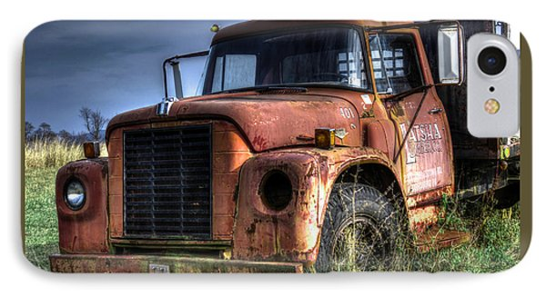 IPhone Case featuring the photograph Earl Latsha Lumber Company Version 3 by Shelley Neff
