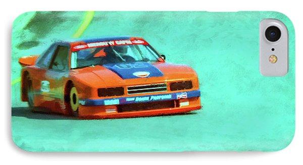 Early 1980s Mercury Capri Scca Trans-am Racer Phone Case by Ken Morris