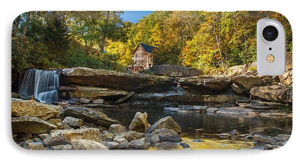 Early Autumn At Glade Creek Grist Mill 2 IPhone Case