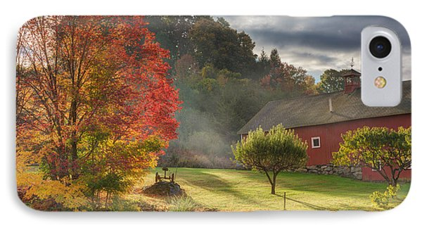 Early Autumn Morning IPhone Case by Bill Wakeley