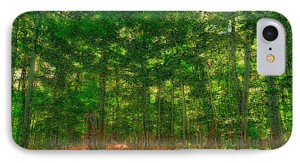 Early Autumn On Maple Ridge IPhone Case by David Patterson