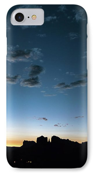 Early Dawn Cathedral Rock IPhone Case by A O Tucker