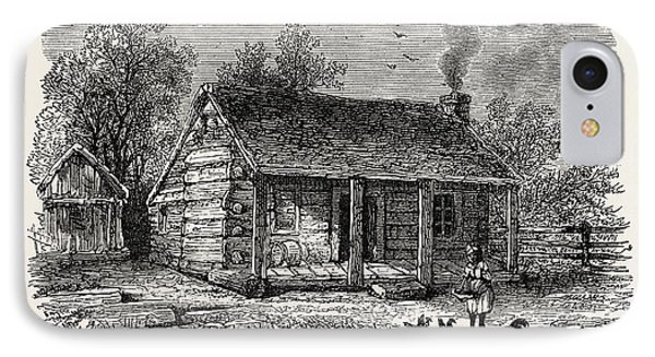 Early Home Of Abraham Lincoln IPhone Case