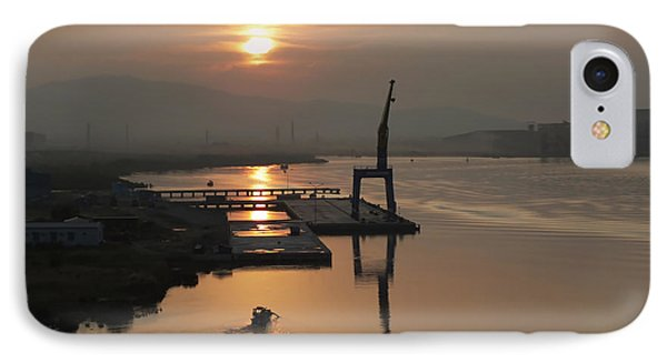 IPhone Case featuring the photograph Early Hour On The River by Lucinda Walter