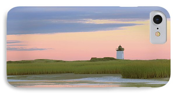IPhone Case featuring the photograph Early Light At Wood End Light by Roupen  Baker