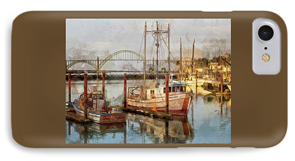 Early Light On Yaquina Bay IPhone Case