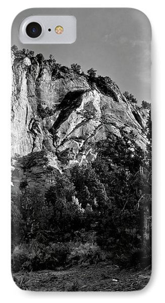 Early Morining Zion B-w Phone Case by Christopher Holmes