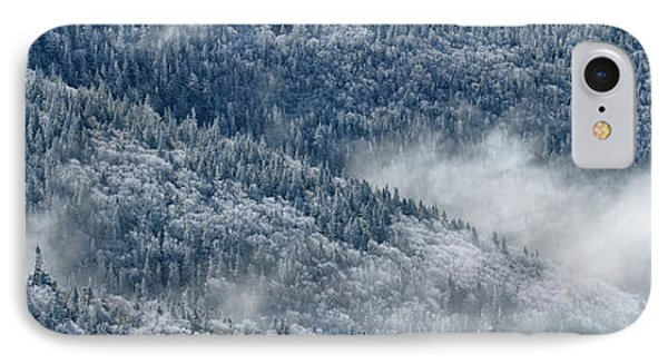 IPhone Case featuring the photograph Early Morning After A Snowfall by Sebastien Coursol