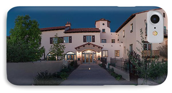 Early Morning At La Posada IPhone Case by Charles Ables
