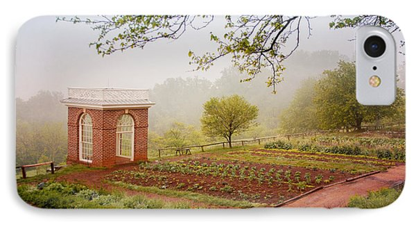 Early Morning At Monticello IPhone Case by Heidi Hermes