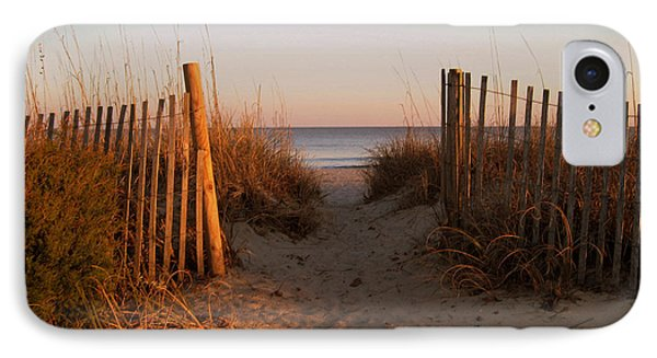 Early Morning At Myrtle Beach Sc Phone Case by Susanne Van Hulst