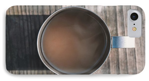 Early Morning Coffee  IPhone Case by Scott Norris