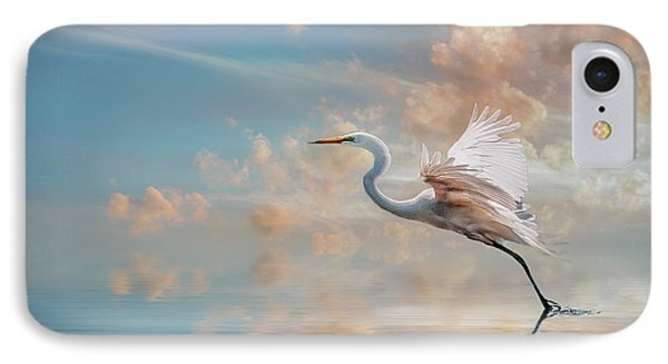 Early Morning Egret IPhone Case by Brian Tarr