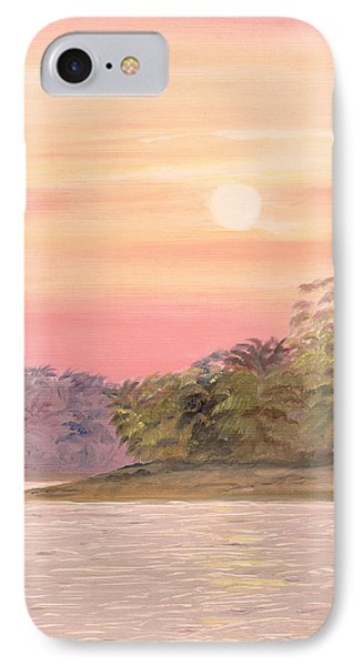 IPhone Case featuring the painting Early Morning by Elizabeth Lock